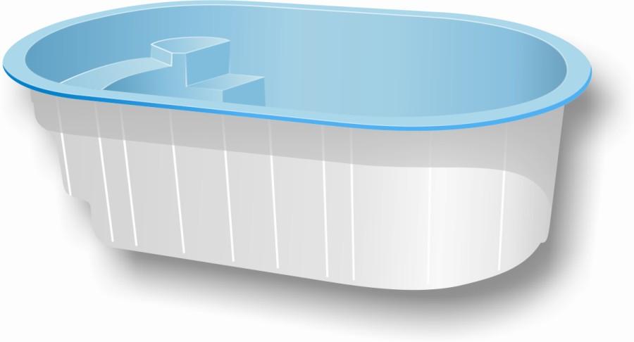 Piscina de fibra zilda for Piscinas fabricantes